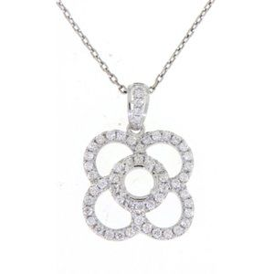 Settings Only Diamond Pendant Jewelry